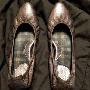Born Copper mottled Leather Ballet Flat 8.5